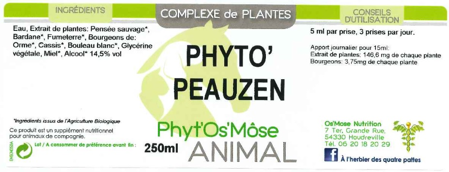 phyto peauzen animal