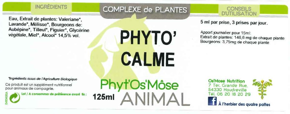 phyto calm animal