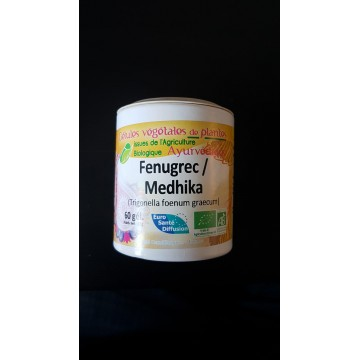 Fenugrec / medhika  bio   gel 450mg / gel Boite de 60 gel