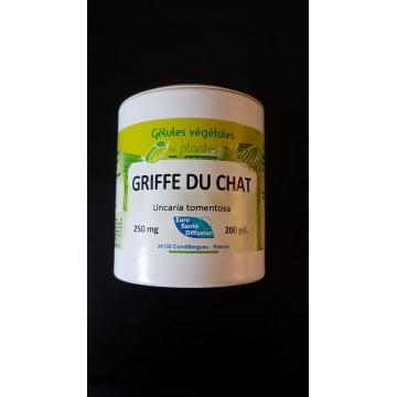 griffe du chat  ( écorce))  gel 250mg / gel Boite de 200 gel