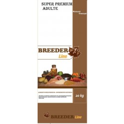 Grain free adulte canard truite Breeder line 20Kg