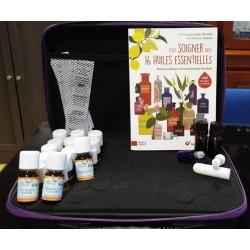Mallette aromatique 16 huiles essentielle + livre